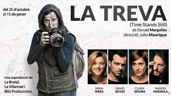 """David Selvas, en La Villarroel con """"La Treva"""""""