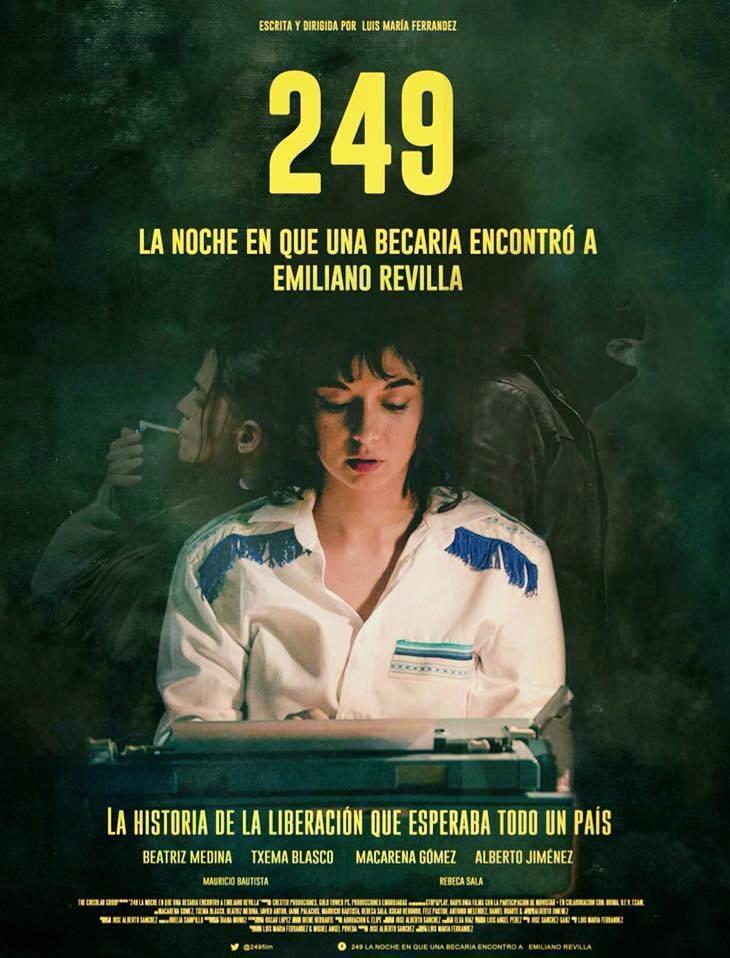 "Macarena Gómez estrena ""249. La noche que una becaria encontró a Emiliano Revilla"""
