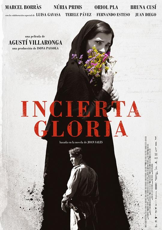 """El 17 de marzo se estrena """"Incerta glòria"""", con Marcel Borràs, Bruna Cusí y Oriol Pla"""