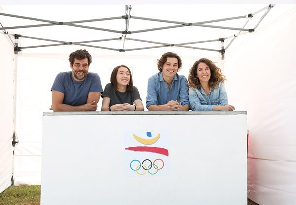 """Betsy Túrnez, Francesc Ferrer y Quimet Pla en """"Amics per sempre"""""""