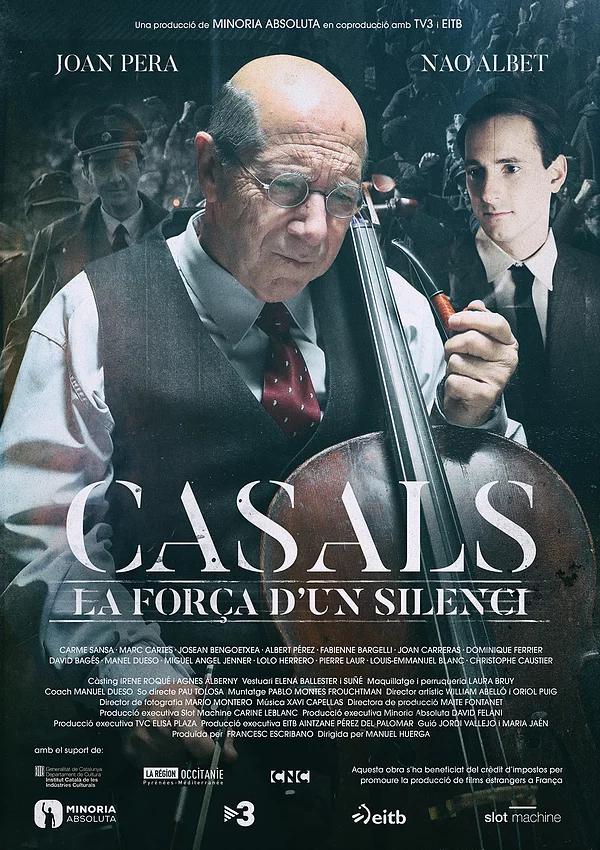 "Nao Albet estrena ""Casals"" en el FICCAT"