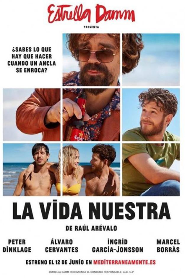 """Marcel Borràs protagoniza """"La Vida Nuestra"""" junto a Peter Dinklage"""