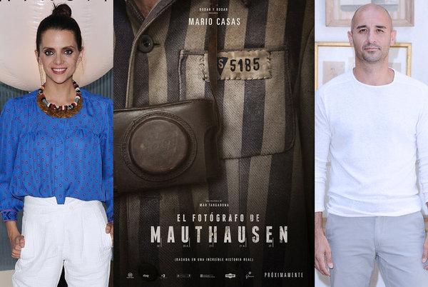 """Alain Hernández, Macarena Gómez y Marc Rodríguez ruedan """"El fotógrafo de Mauthausen"""""""