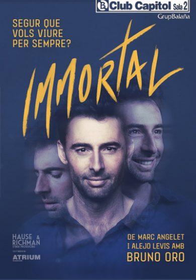 """Bruno Oro representa """"Immortal"""" en el Club Capitol"""