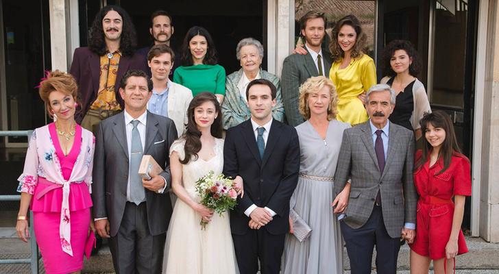 """Nao Albet y Mireia Vilapuig participan en la boda del año en """"Cuéntame"""""""
