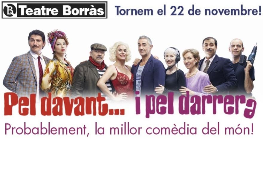 """Agnès Busquets estrena """"Pel davant… i pel darrera"""" en el Teatre Borràs"""