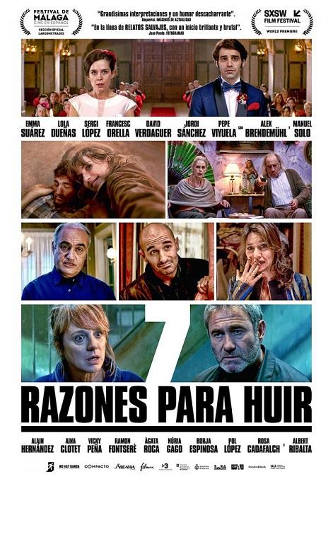 """""""7 razones para huir"""", con Aina Clotet y Alain Hernández llega a los cines el 5 de abril"""