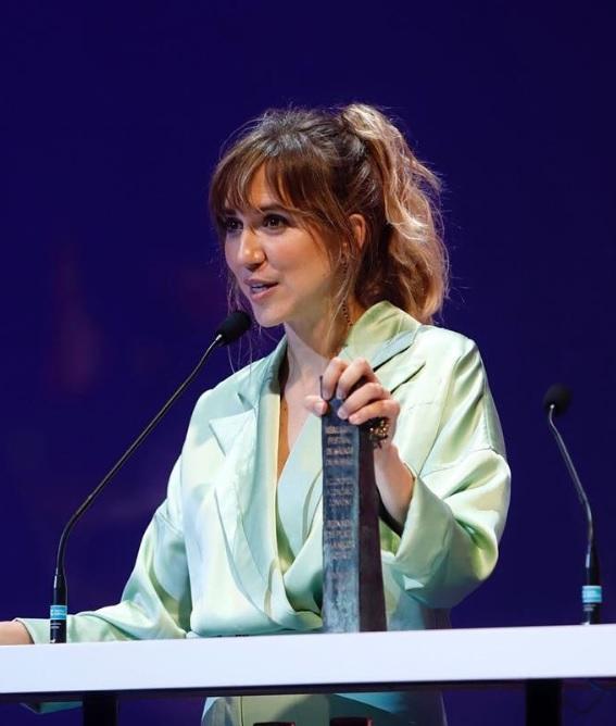 Aina Clotet se lleva Biznaga de Plata en el Festival de Málaga