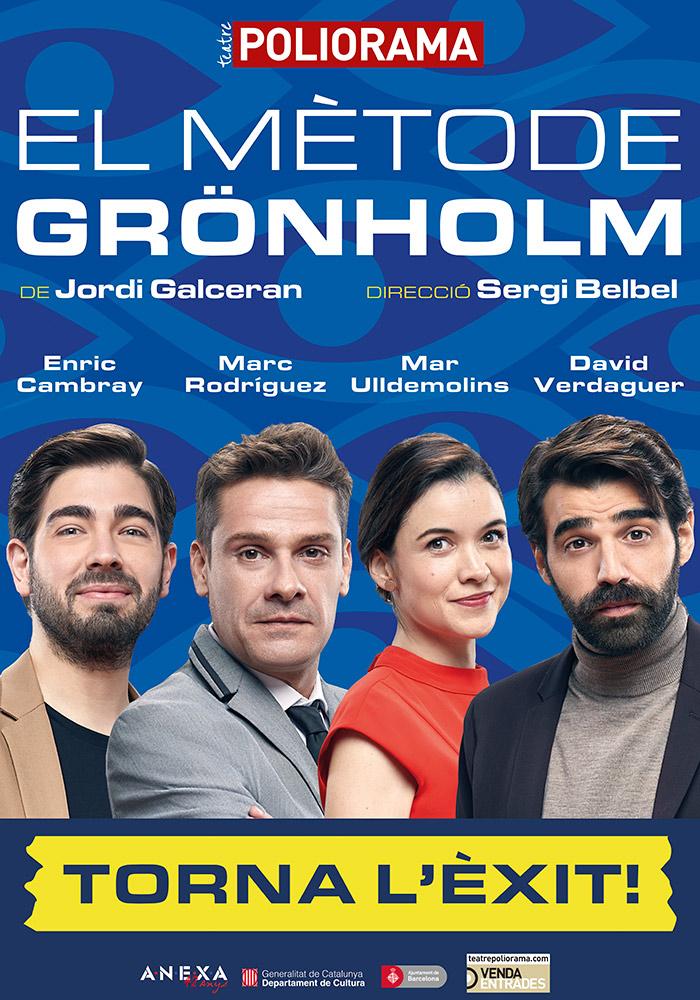"""Marc Rodríguez protagoniza """"El mètode Grönholm"""" en el Poliorama"""